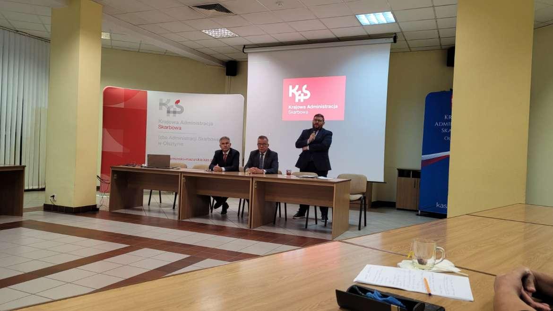 Spotkanie z Rzecznikiem MŚP i Dyrektorem Izby Administracji Skarbowej w Olsztynie